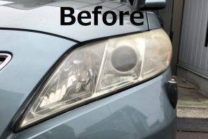 自動車 ヘッドライト リペア