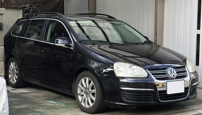 VW ゴルフ バリアント ドア内張の張替え|千葉市