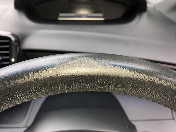 ホンダ・フリード・スパイク ステアリングのスレ・剥げの補修リペア|鴨川市 千葉市