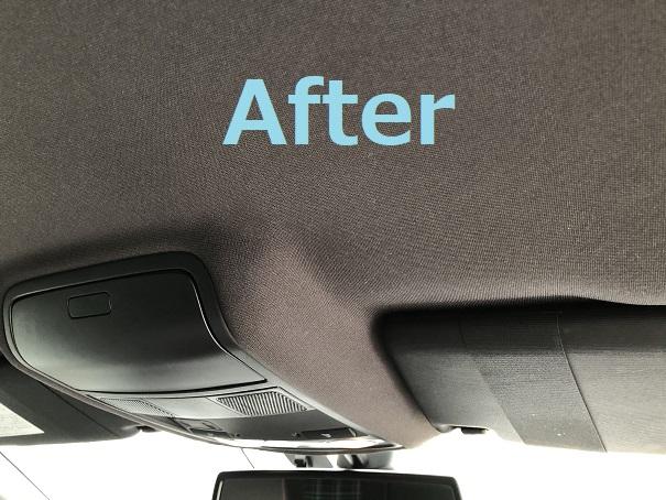 VW ゴルフ6GTI 天井落ち・剥がれ・垂れ下がり ルーフ張り替え|千葉市 流山市