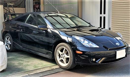 トヨタ セリカ 天井落ち・剥がれ ルーフ張り替え|千葉県 千葉市