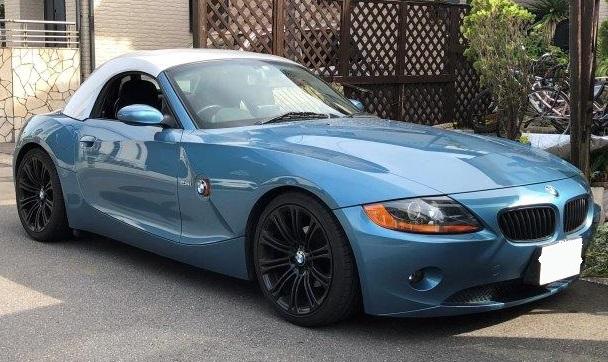 BMW Z4 ハードトップの内張剥がれ・天井落ち リペア 張り替え 修理|千葉市