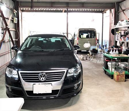 VWパサート ヴァリアント ルーフの剥がれ・天井落ち 天井張り替え 修理|千葉市 江戸川区