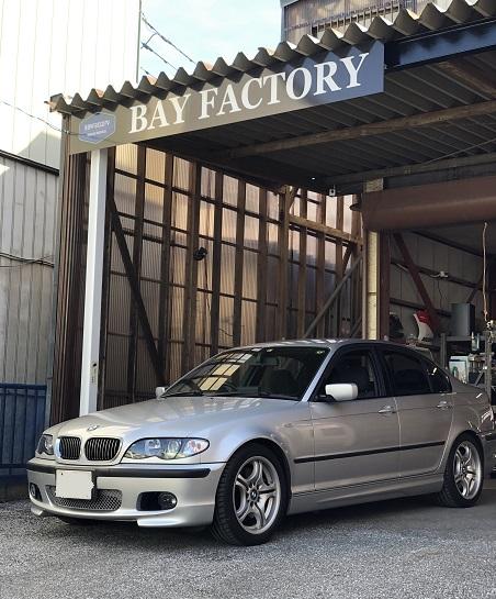 BMW3シリーズ(E46) ルーフの剥がれ・天井落ち 天井張り替え 修理|千葉市 君津市