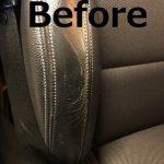 BMWX4レザーシートリペア
