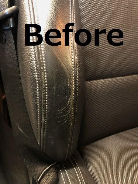 BMW X4 レザーシート擦れリペア・劣化修理|千葉市 市原市
