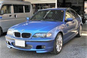 BMWe46天井張り替え