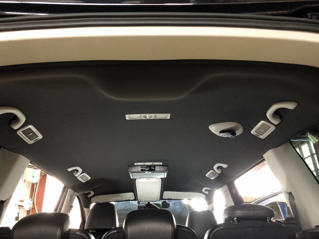 VWシャラン ルーフの剥がれ・天井落ち 天井張り替え 修理|千葉市 八千代市